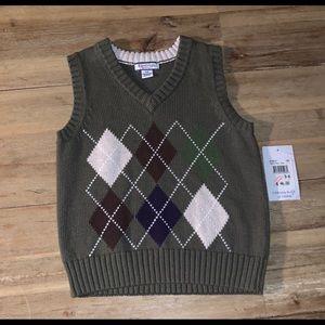 Kitestrings Boys Sweater Vest, NWT, Size 5-6